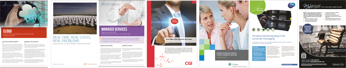 Creative Marketing Collateral for Content Marketing